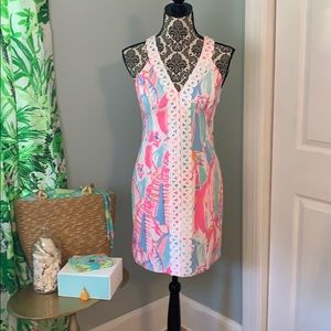 Lilly Pulitzer Out To Sea Print Dress